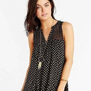 NEW Urban Outfitters (Ecote) Gauze Frock Dress